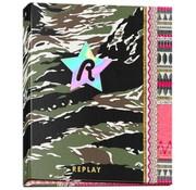 Replay Ringband 2r - camo/roze