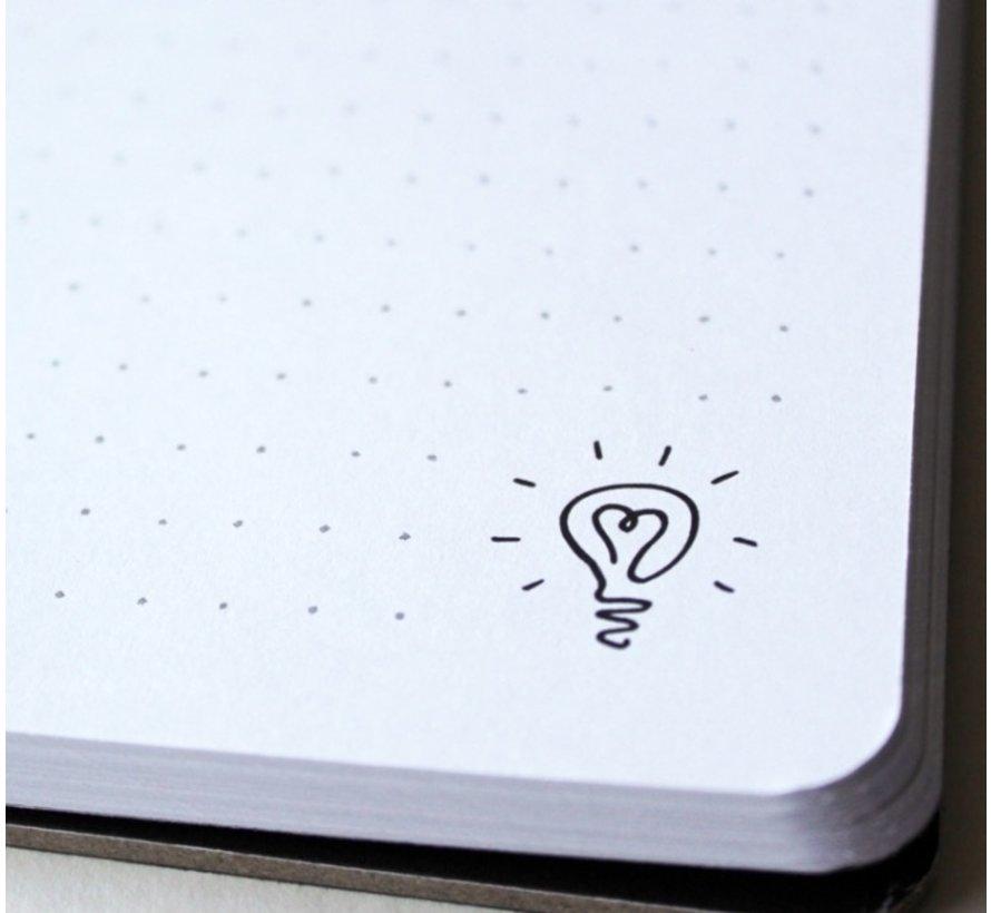 Dotbook A4 stippen notitieboek
