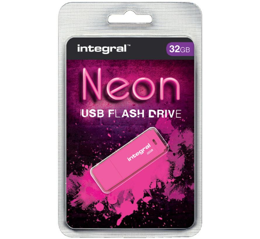 USB 2.0 stick - 32 GB Neon flash drive
