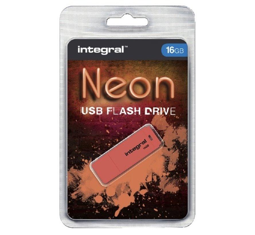 USB 2.0 stick - 16 GB Neon flash drive