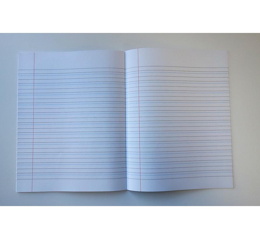 Schoonschrijven 6-3-6 schrift A5 potloden