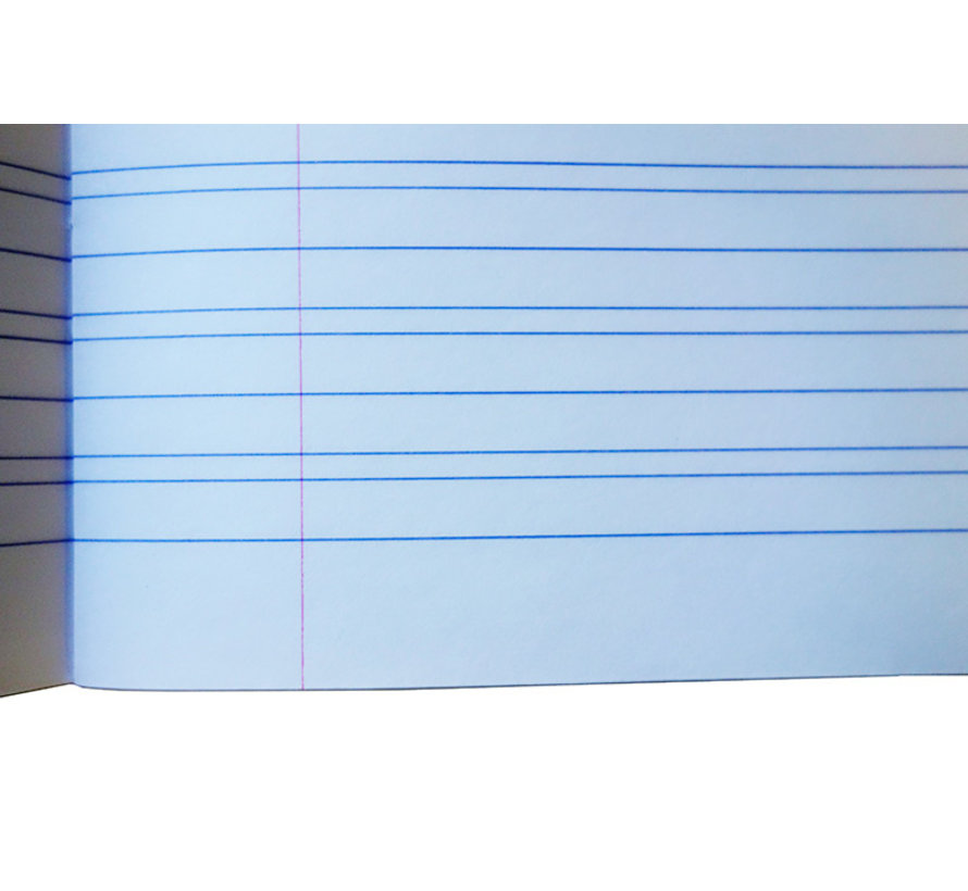 Splendid A5 oefenschrift lijntjes  - 3 lijnen 7-3-7