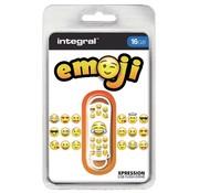 Integral USB 2.0 stick - 16 GB Emoji