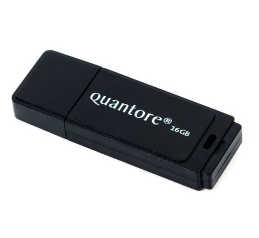 USB 2.0 stick zwart -  16 GB