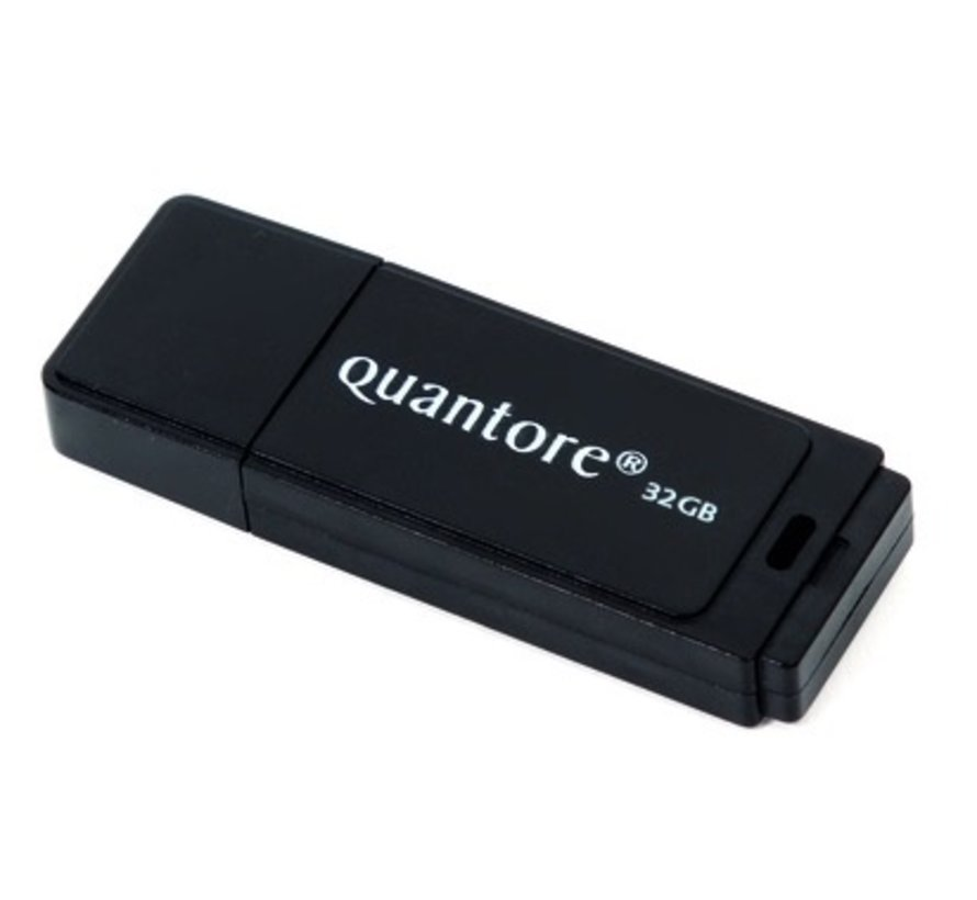 USB 2.0 stick zwart -  32 GB