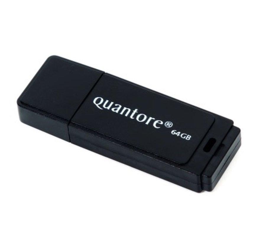 USB 2.0 stick zwart -  64 GB