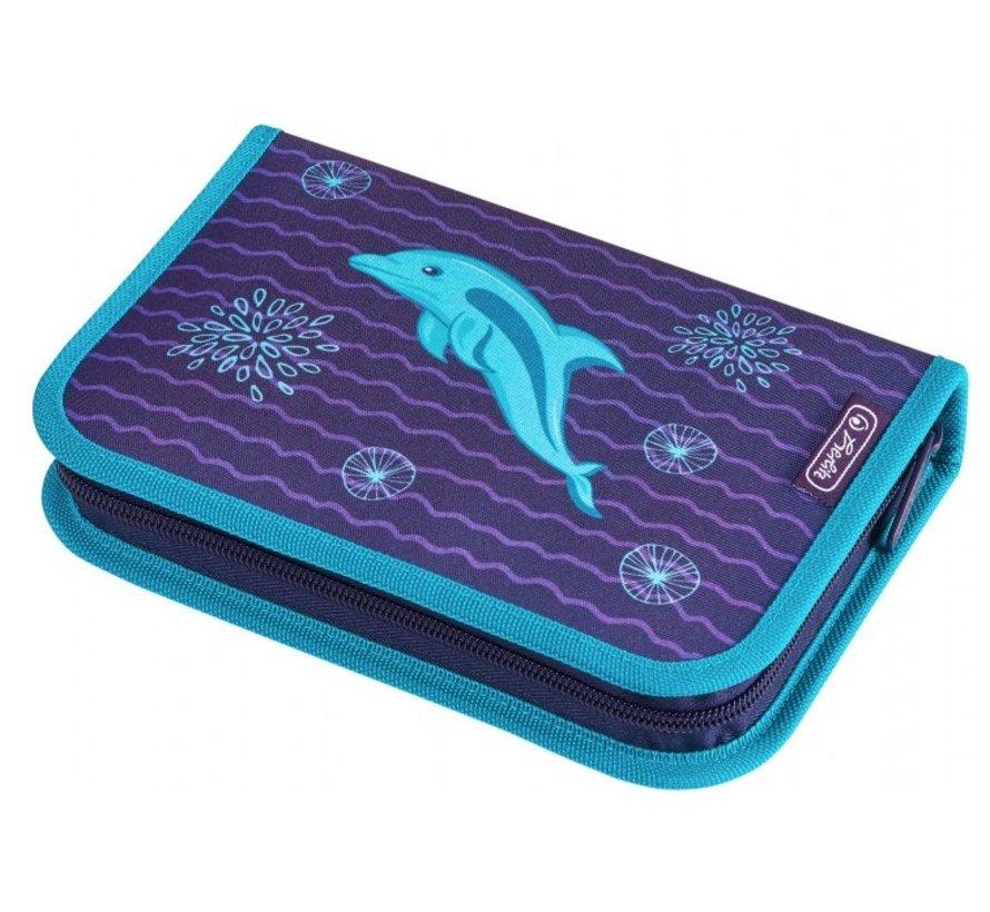 Etui vol met tekenpullen - dolfijn