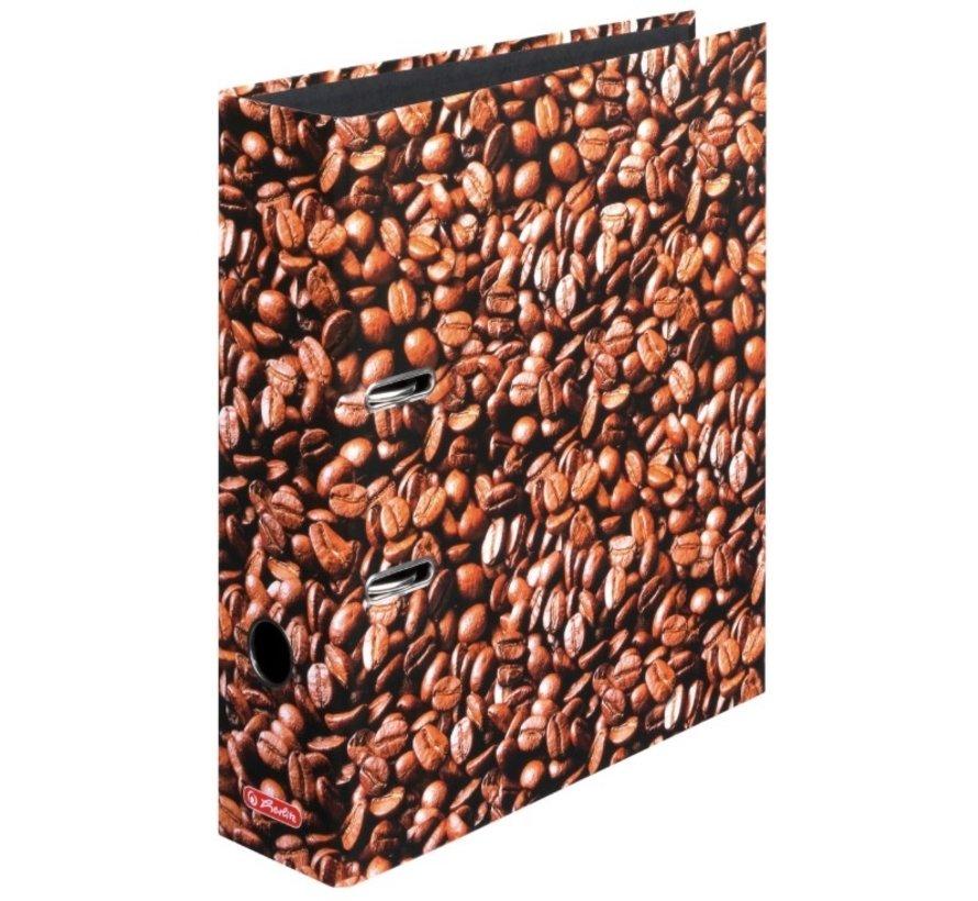 Koffiebonen ordner met 2 ringen