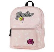 Replay Rugzak roze - middel