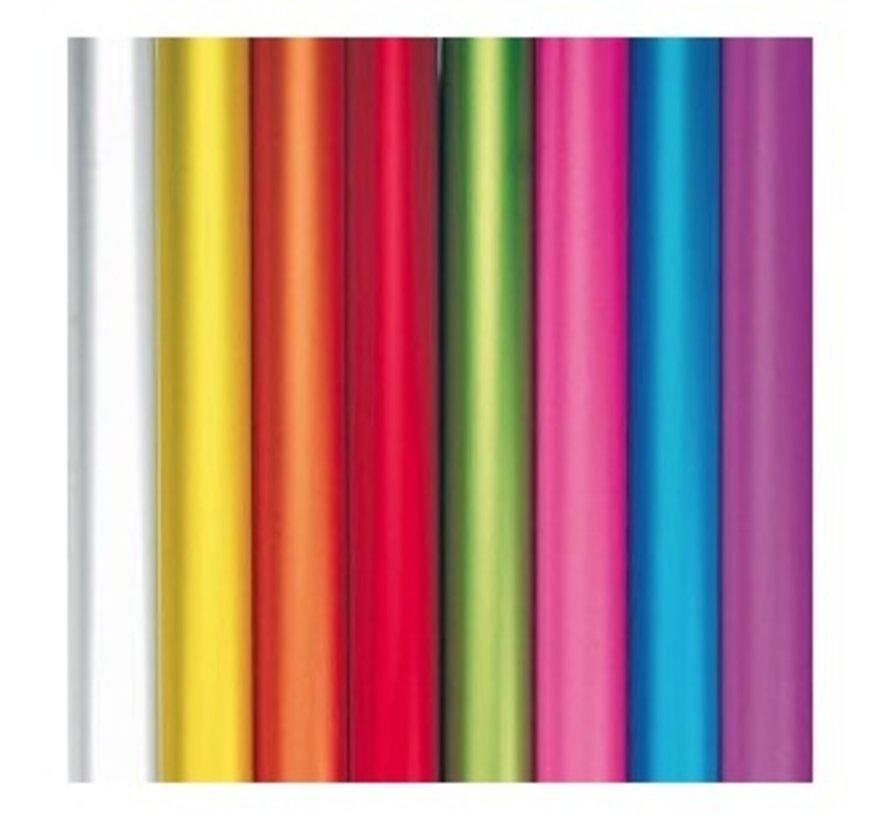 Gekleurd kaftpapier met parelmoer glans