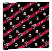 Paul Frank Boy kaftpapier - zwart/rood