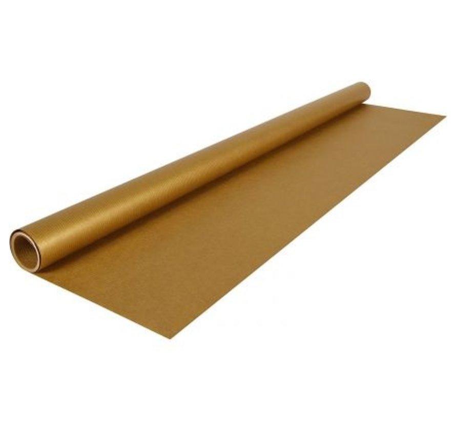 Kraft kaftpapier - goud