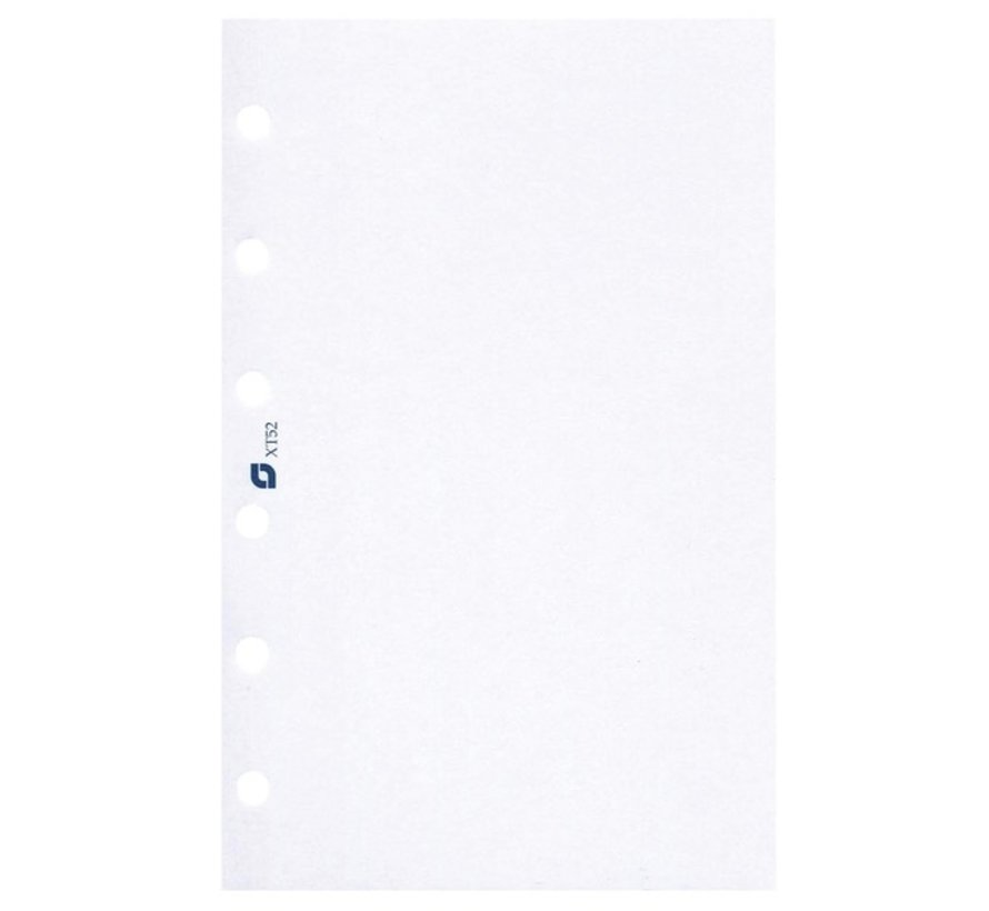 Blanco papier inhoud - personal/standard
