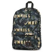 O'Neill Boys laptop rugzak grijs/geel - compact