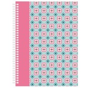-1st- Collegeblok pink A4 - gelinieerd