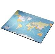 Bureaulegger - wereldkaart