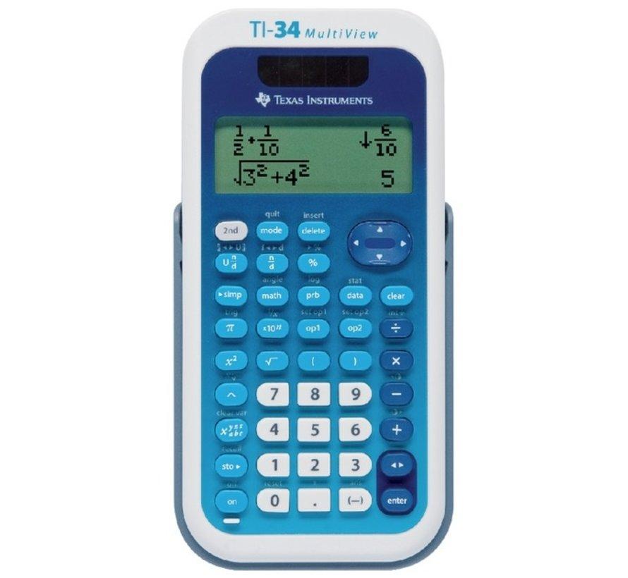 TI-34 multiview rekenmachine