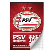 PSV A4 ruitjes schrift - since 1913