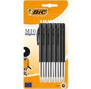 Bic M10 balpennen - 10 x zwart