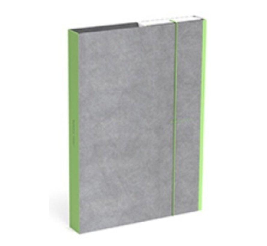 Opbergbox - A4 groen