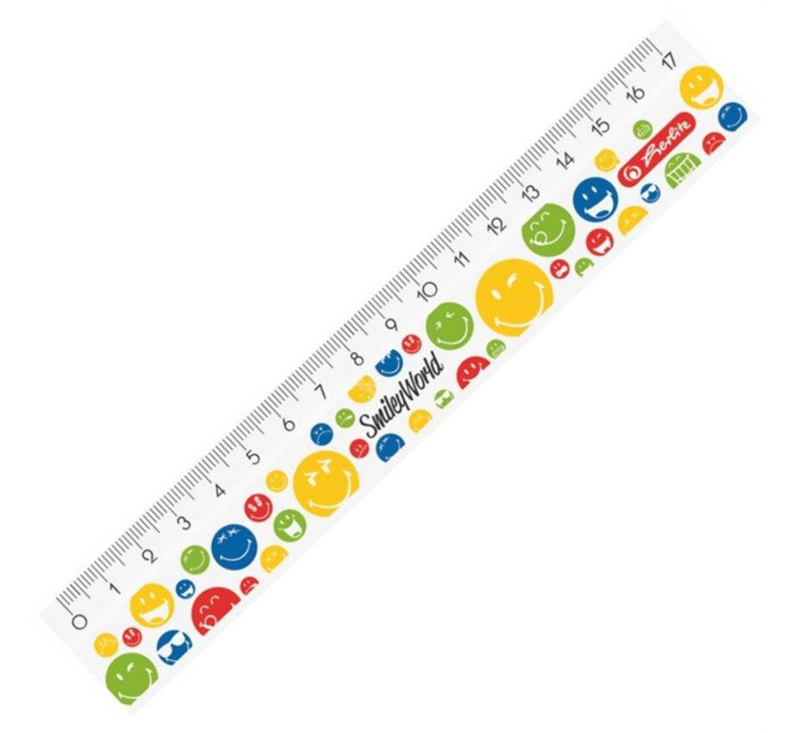liniaal rainbow - 17cm