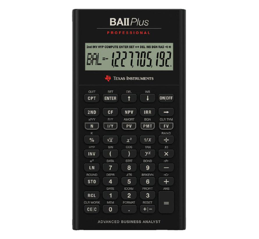 TI Ba II Profesisonal rekenmachine