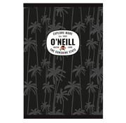O'Neill A4 lijntjes schrift - black palm