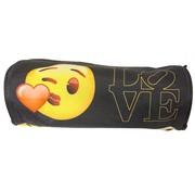 Emoji Love etui - rond