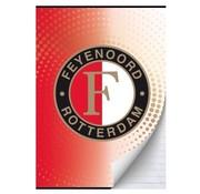 Feyenoord Feyenoord A4 lijntjes schrift - rood/wit