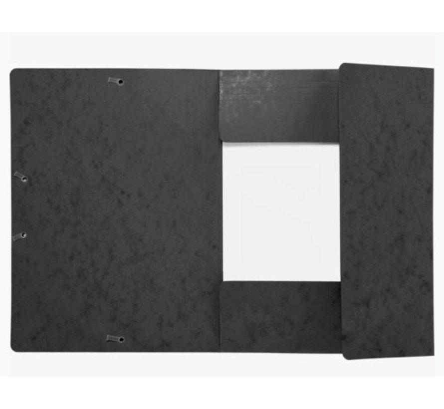 Zwarte elastomap - met FSC keur