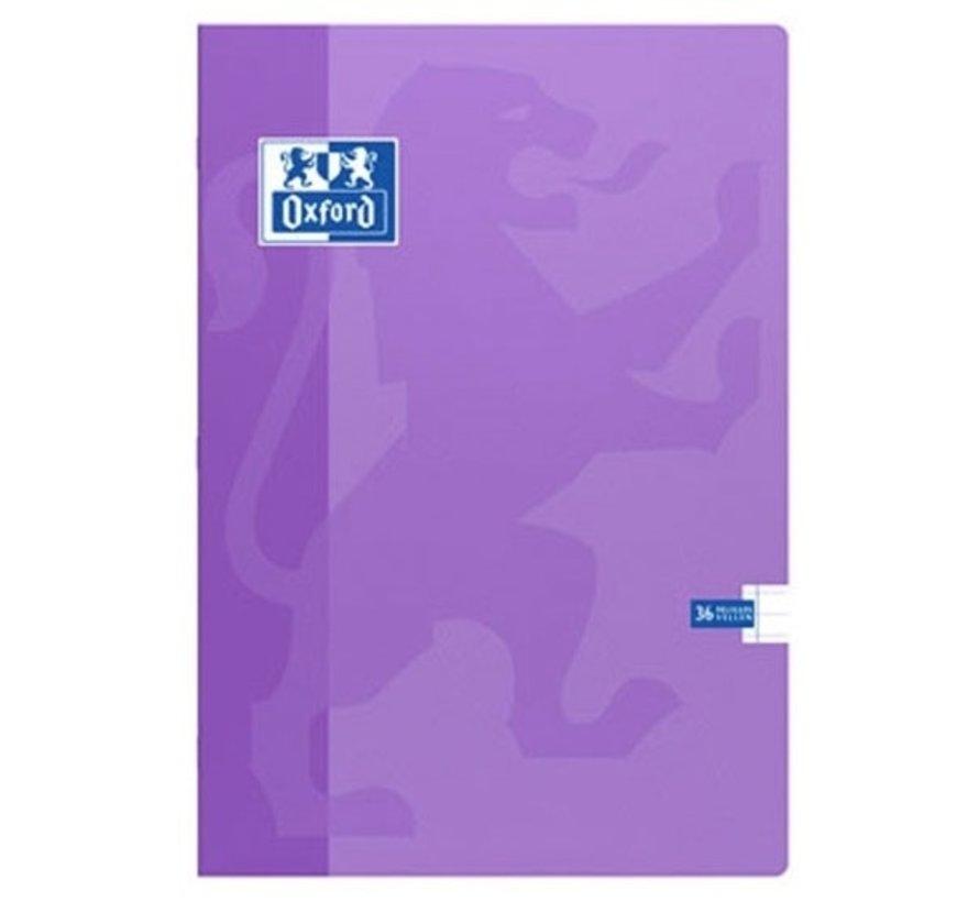 A4 lijntjes schrift - extra dik 120 bladzijden