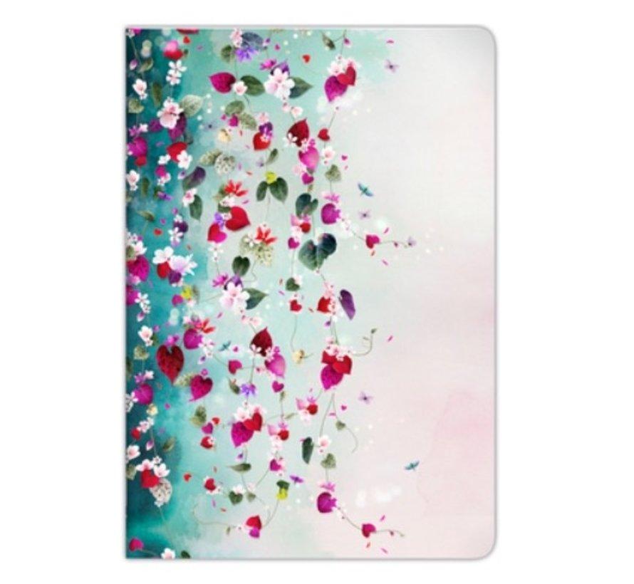 A4 Schrift - bloemen