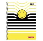 Smileyworld Spiraalschrift A4 5 mm geruit - geel/zwart