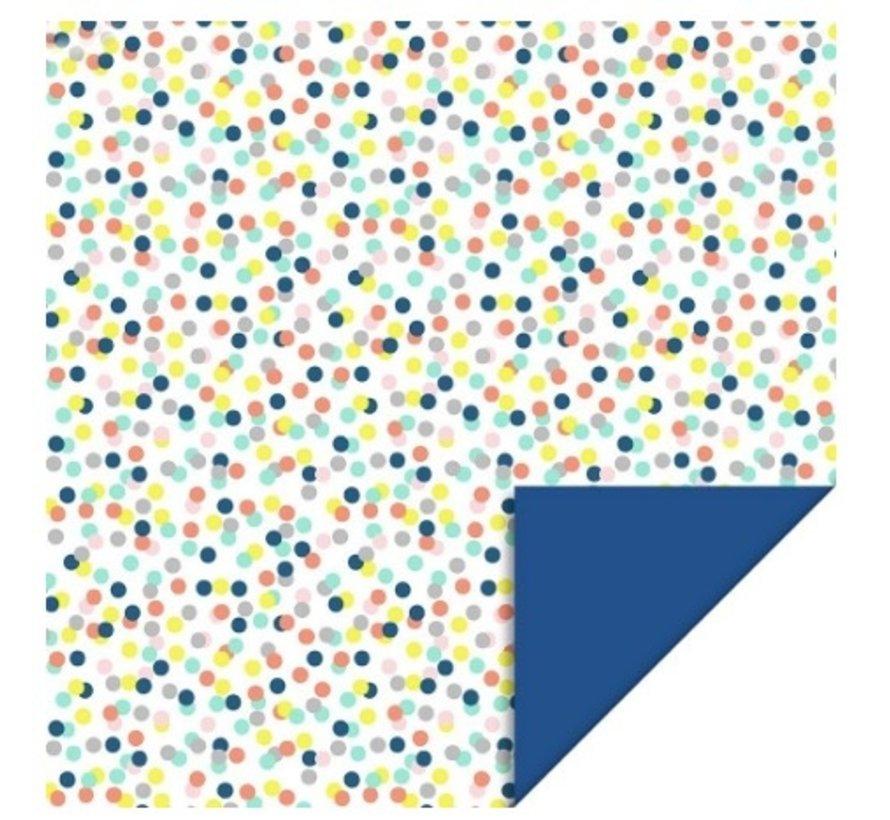 Kaftpapier - Confetti stippen