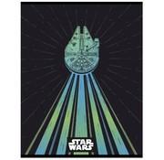 Star Wars A4 ruitjes schrift