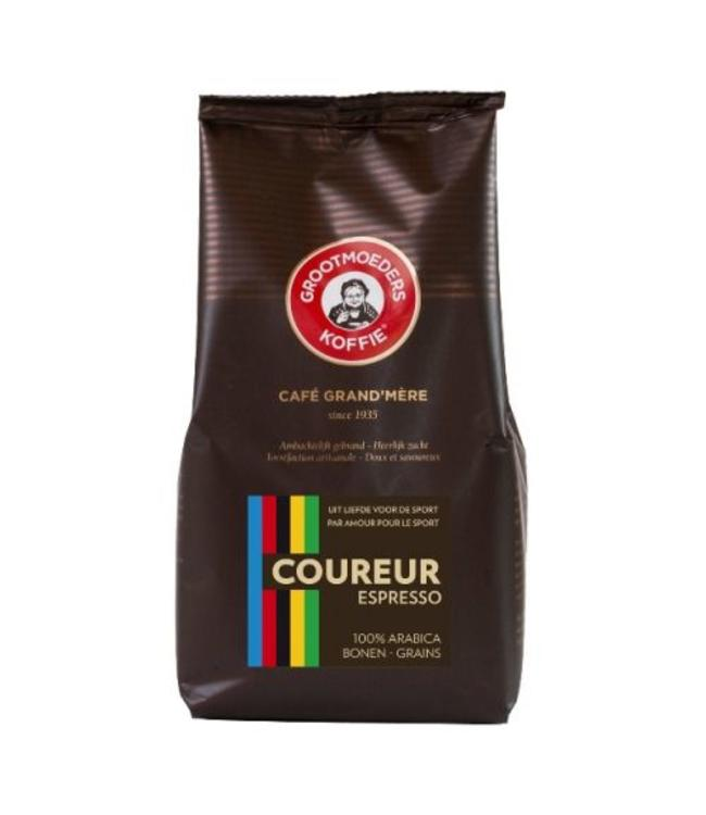 Grootmoeders Koffie Grootmoeders Koffie 'Coureur' Espresso bonen