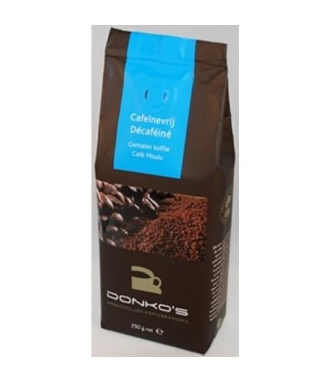 Donko's Koffie Donko's Koffie Cafeïnevrij gemalen