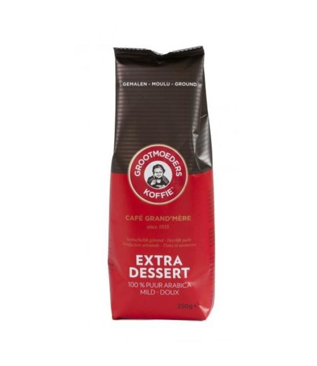 Grootmoeders Koffie Grootmoeders Koffie Extra Dessert - Gemalen