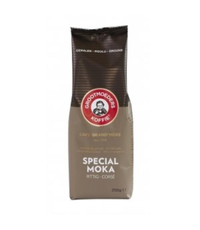 Grootmoeders Koffie Grootmoeders Koffie Special Moka - Gemalen