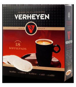 Verheyen Koffie Verheyen Koffie Strong 18 pads
