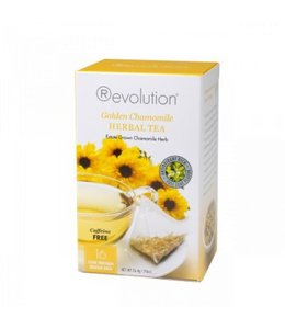 Revolution Revolution Tea Golden Chamomile Herbal 16 T-bags