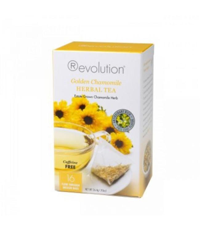 Revolution Revolution Tea Golden Chamomile Herbal 16 T-bags