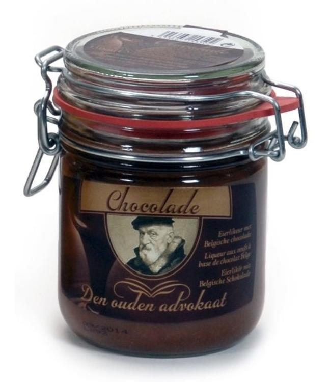 Den Oude Advokaat Den Ouden Advokaat - Chocolade Weckpot 350ml