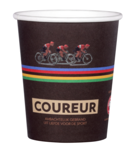 Grootmoeders Koffie Coureur koffiebeker - 50 stuks