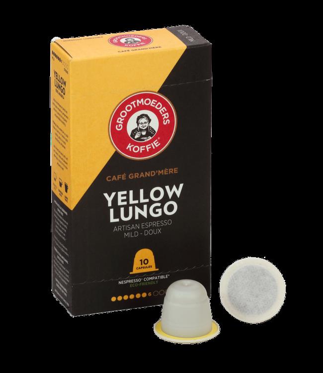Grootmoeders Koffie Grootmoeders Koffie Yellow Lungo - 10 cups