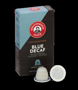 Grootmoeders Koffie Grootmoeders Koffie Blue Décaf - 10 cups