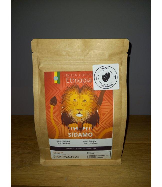Viva Sara Origine - Ethiopië Sidamo - 250g bonen