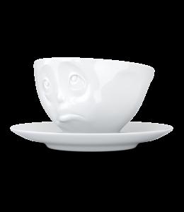 Tassen  'Tassen' kop en schotel, wit - Oh Please