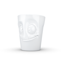 Tassen  'Tassen' mok met handvat, 350ml, wit - Lekker