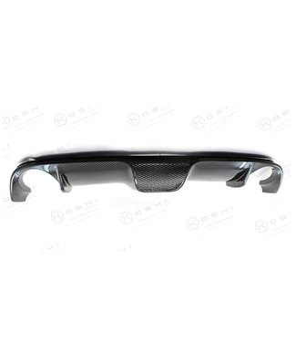 Koshi Group Abarth Fiat 500 Double Exhaust Diffuser